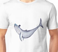 Classy Mr. Whale (in a Top Hat) Unisex T-Shirt