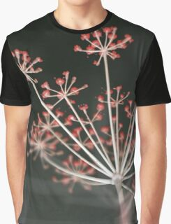 Red Fireworks Graphic T-Shirt