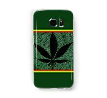 ganja leaf Samsung Galaxy Case/Skin