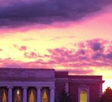 Lilly Library At Sunset Sticker