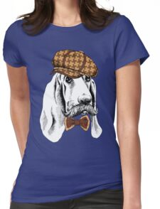 dog #2 Womens Fitted T-Shirt