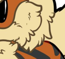 Arcanine Smol Sticker