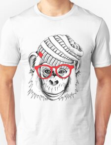 monkey portrait T-Shirt