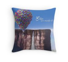 Ellie We Made It Throw Pillow