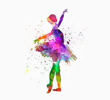 Young woman ballerina ballet dancer dancing with tutu Unisex T-Shirt
