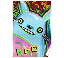 Psychadelic My Neighbor Totoro Poster