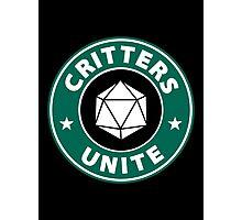 Critters Unite! - Critical Role Fan Design Photographic Print