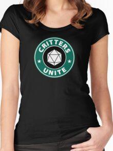Critters Unite! - Critical Role Fan Design Women's Fitted Scoop T-Shirt