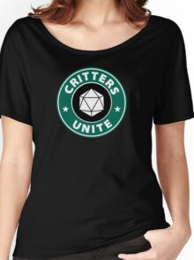 Critters Unite! - Critical Role Fan Design Women's Relaxed Fit T-Shirt