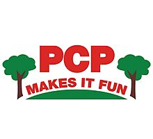PCP Makes It Fun Leslie Knope Funny Design Photographic Print