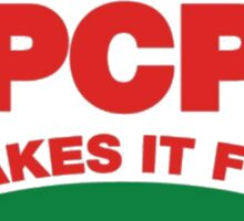 PCP Makes It Fun Leslie Knope Funny Design Sticker