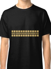 Traditional gold ornament egypt style geometric  Classic T-Shirt