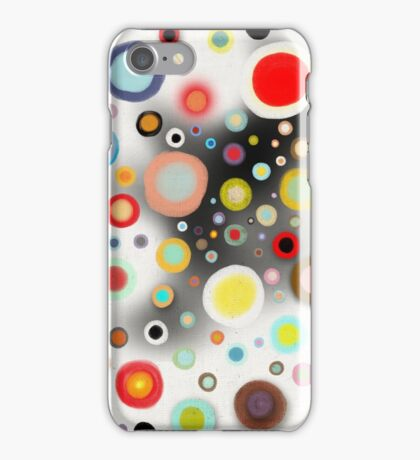 Whimsical Nursery Happy Circles iPhone Case/Skin