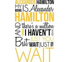 Alexander Hamilton - Hamilton Photographic Print