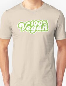 100 Percent Vegan Unisex T-Shirt