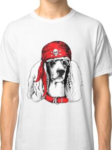 hipster dog Classic T-Shirt