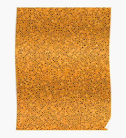 Ultimate Maple Orange Mosaic  Poster