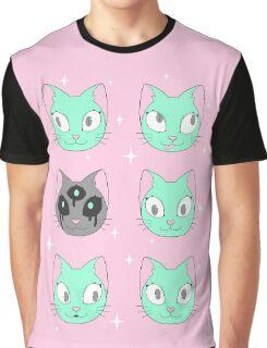 cat cat cat Graphic T-Shirt