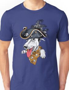 Crazy hipster dog  Unisex T-Shirt