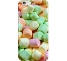 Colorful miniature marshmallows iPhone Case/Skin