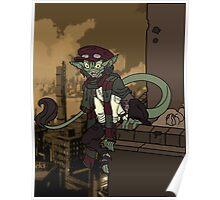 Steampunk Gremlin Poster