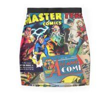 Cartoon Comics Magazine Collage Retro Marvel Mini Skirt