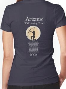 Artemis Fall Hunting Tour Women's Fitted V-Neck T-Shirt