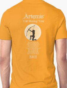 Artemis Fall Hunting Tour Unisex T-Shirt
