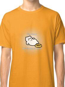 Neko Atsume Tubbs Apology  Classic T-Shirt