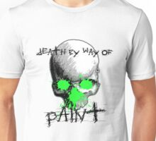 Death By Paint Unisex T-Shirt