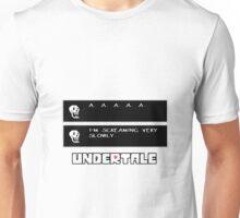 ❤ ♥ Undertale Papyrus Funny ♥ ❤ Unisex T-Shirt