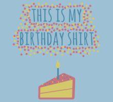 Birthday (in Light) One Piece - Short Sleeve