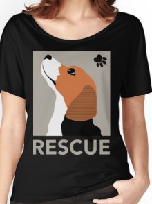 Rescue (Beagle) Women's Relaxed Fit T-Shirt