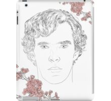 Benedict Cumberbatch ft. blossoms iPad Case/Skin