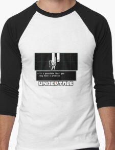 ❤ ♥ Undertale Doge ♥ ❤ Men's Baseball ¾ T-Shirt