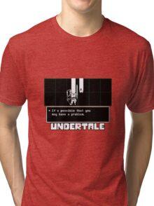 ❤ ♥ Undertale Doge ♥ ❤ Tri-blend T-Shirt