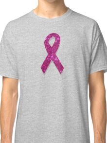 pink breast cancer awareness ribbon Classic T-Shirt
