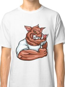 angry Boar Classic T-Shirt