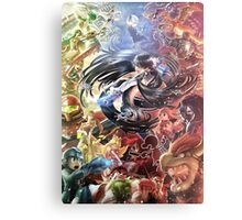 super smash bros bayonetta gets wicked Metal Print