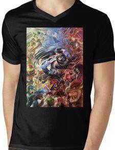 super smash bros bayonetta gets wicked Mens V-Neck T-Shirt