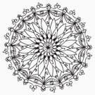 Meditative Mandala #27 by KFStudios