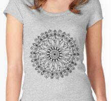 Meditative Mandala #27 Women's Fitted Scoop T-Shirt