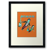 Flight of the concords Framed Print