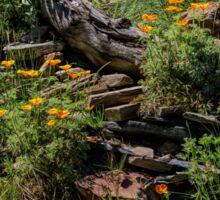 California native garden Sticker