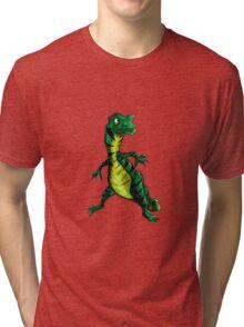 Strawberry Dough- Goanna Tri-blend T-Shirt