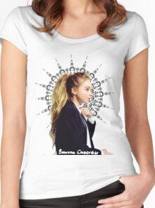 Sabrina Carpenter Women's Fitted Scoop T-Shirt