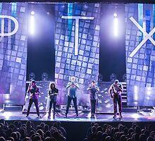 Pentatonix on stage by ptxkyle
