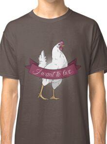 I Want To Live (Dualla) Classic T-Shirt