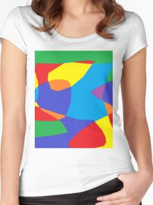 Paint Art Women's Fitted Scoop T-Shirt