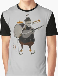 One Man Band Machine Graphic T-Shirt